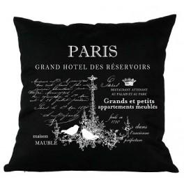Poduszki Ozdobne Czarne PARIS