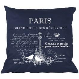 Poduszki Ozdobne Granatowe PARIS