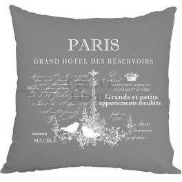 Poszewki Ozdobne Szare PARIS