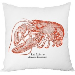 Decorative Pillow RED LOBSTER