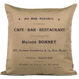 Poduszki Ozdobne Beżowe CAFE BAR