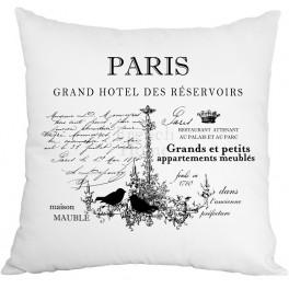 Poduszki Ozdobne Białe PARIS